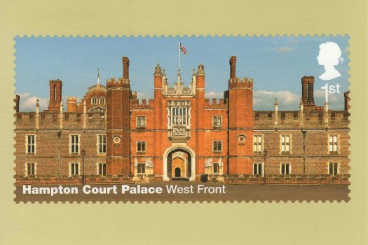 Hampton Court Stamp Cards Back image 1