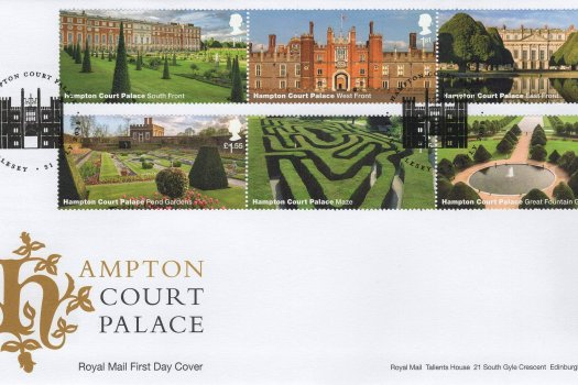 Royal Mail Hampton Court FDC