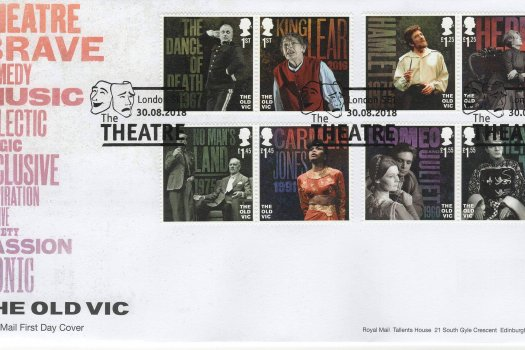 Royal Mail Old Vic FDC