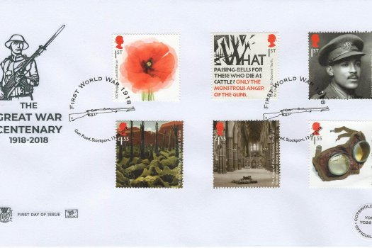 Stuart Great War 1918 FDC