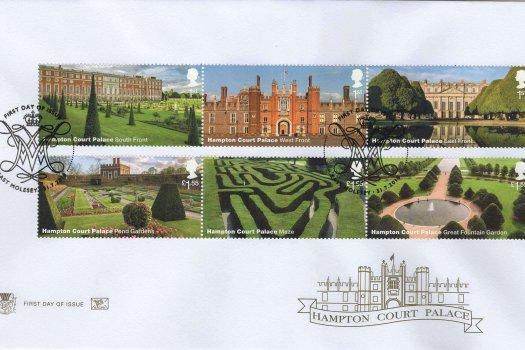 Stuart Hampton Court FDC