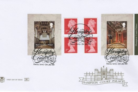 Stuart Hampton Court Retail Booklet FDC