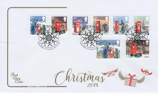 Cotswold Christmas 2018 FDC