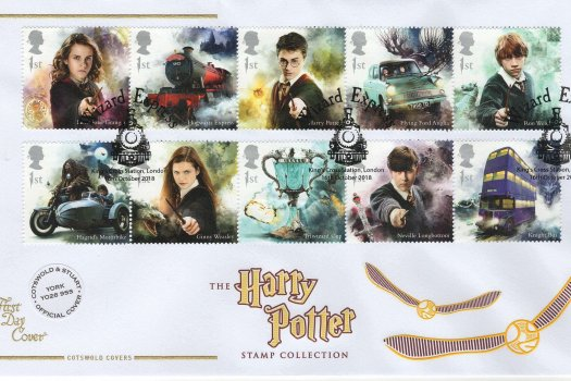 Cotswold Harry Potter FDC