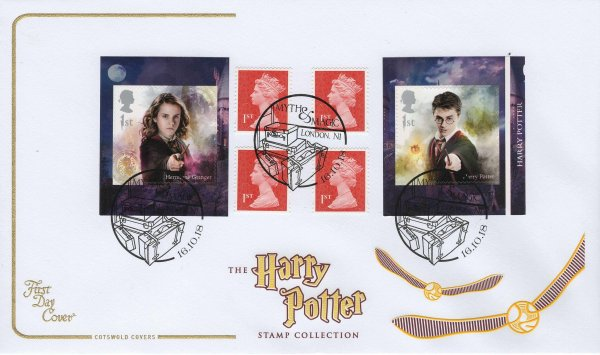 Cotswold Harry Potter Retail Booklet FDC