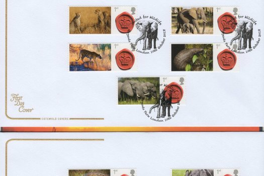 Cotswold United for Wildlife FDC