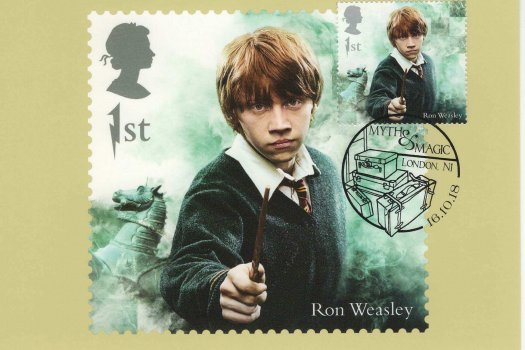 Harry Potter Stamp Cards image 1