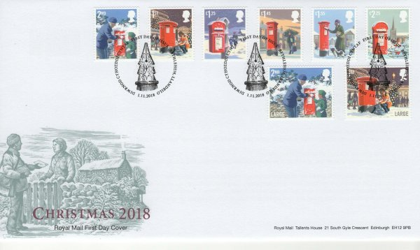 Royal Mail Christmas 2018 FDC