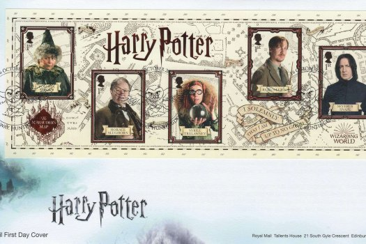 Royal Mail Harry Potter Minisheet FDC