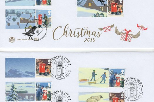 Stuart Christmas 2018 Generic Sheet FDC image 2