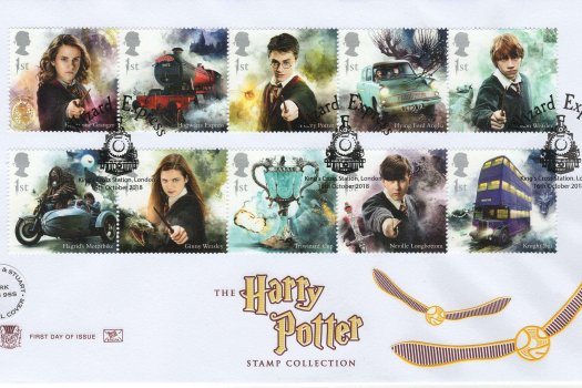 Stuart Harry Potter FDC