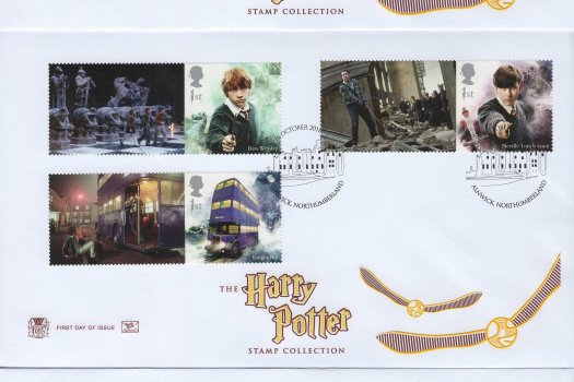 Stuart Harry Potter Generic Sheet FDC