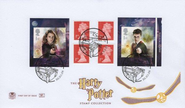 Stuart Harry Potter Retail Booklet FDC