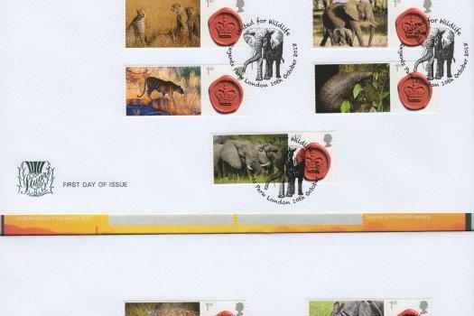 Stuart United for Wildlife Commemorative Sheet FDC