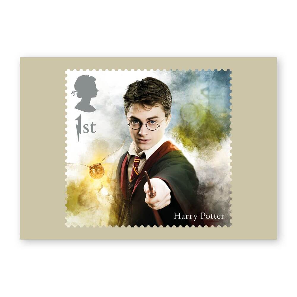 Harry Potter stamps and covers are back!