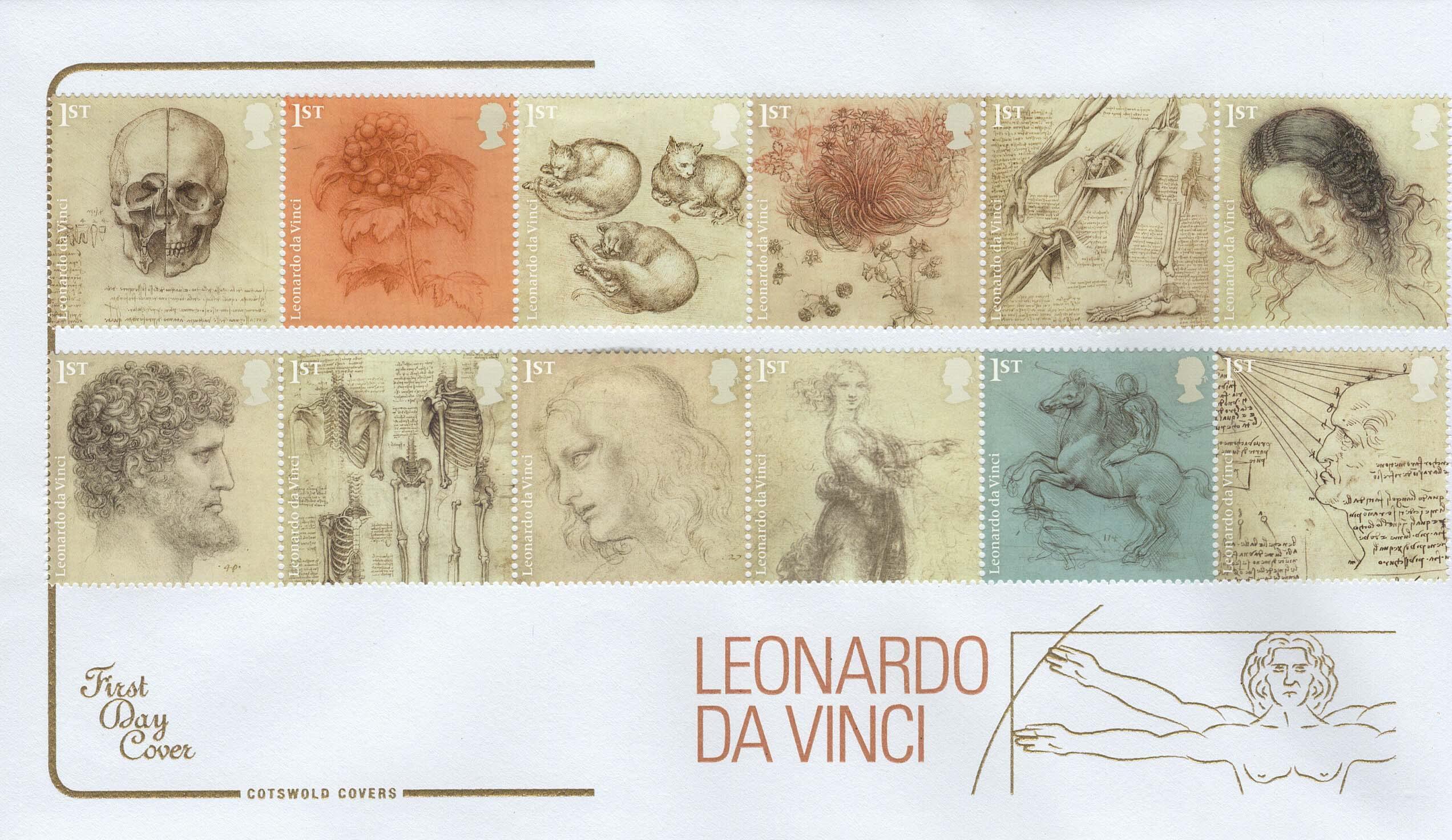 Cots Leonardo FDC