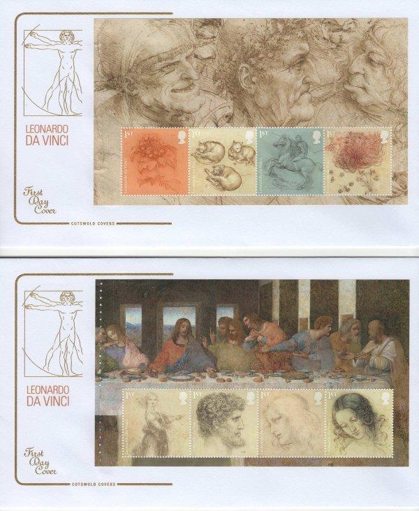 Cots Leonardo PSB FDC image 1