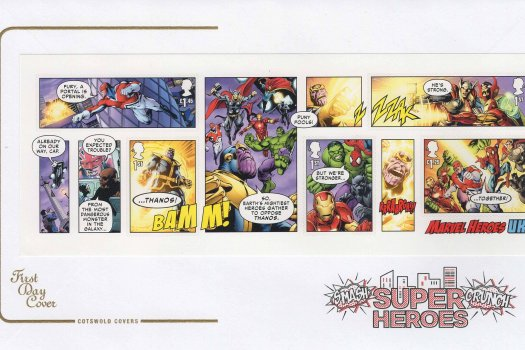Cotswold Marvel Superheroes MS FDC