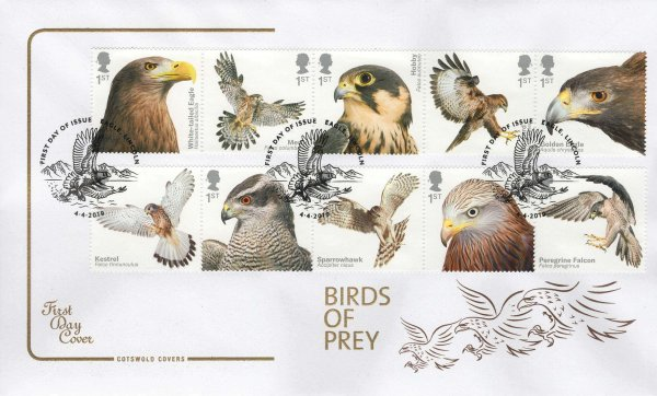 Cotswold Birds of Prey FDC