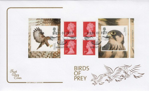 Cotswold Birds of Prey Retail Booklet FDC