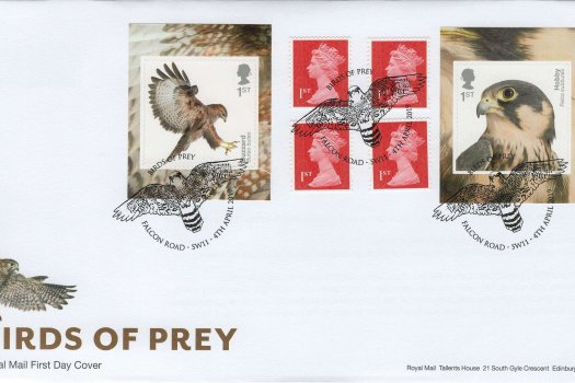 Royal Mail Birds of Prey Retail Booklet FDC