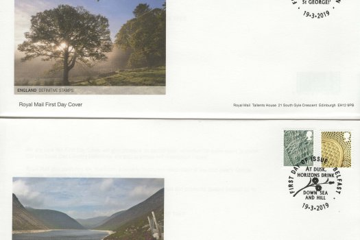 Royal Mail Regional Definitive 2019 FDC image 1