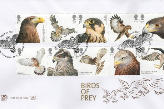 Stuart Birds of Prey FDC