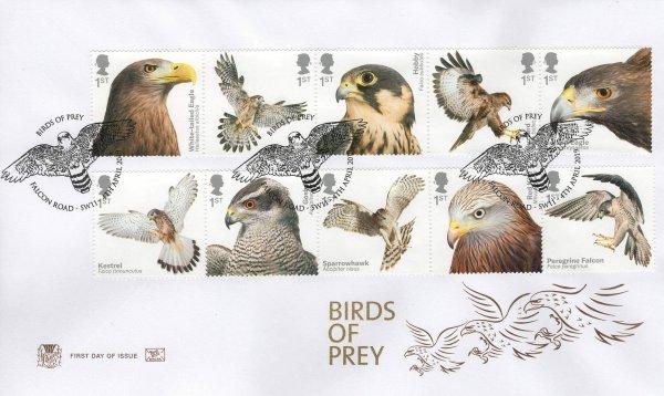 Stuart Birds of Prey FDC