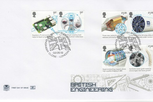 Stuart British Engineering FDC