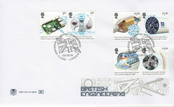 Stuart British Engineering FDC