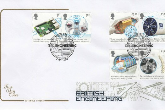 Cotswold British Engineering FDC