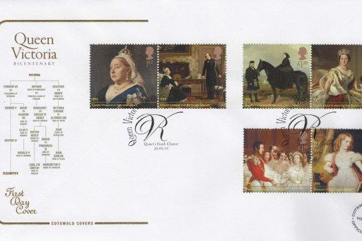 Cotswold Queen Victoria Bi-Centenary FDC