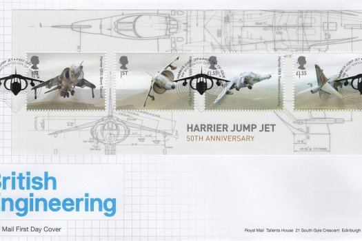 Royal Mail British Engineering Minisheet FDC