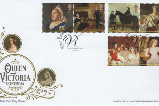 Royal Mail Queen Victoria Bi-Centenary FDC