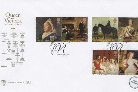 Stuart Queen Victoria Bi-Centenary FDC