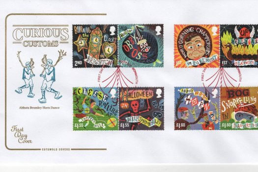 Cotswold Curious Customs FDC