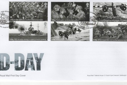 Royal Mail D-Day 75th Anniv FDC