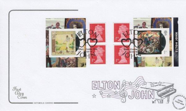 Cotswold Elton John Retail Booklet FDC Ltd Edition