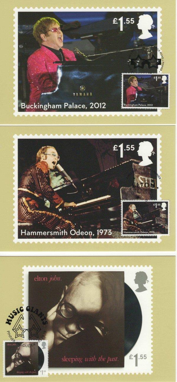 Elton John Stamp Cards image 2