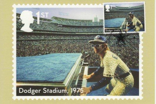Elton John Stamp Cards image1