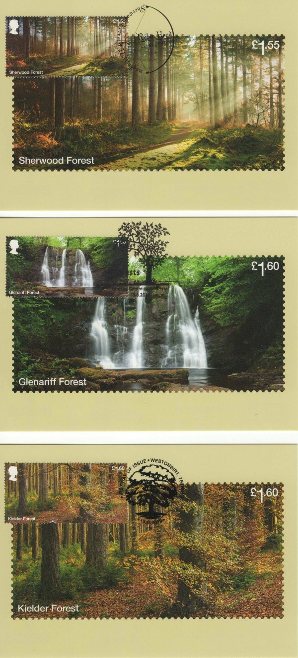 Forests Stamp Cards image 2