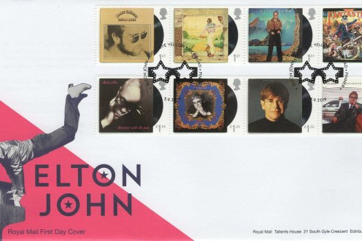 RM Elton John FDC
