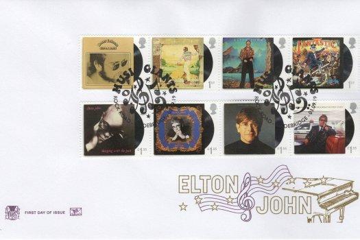 Stuart Elton John FDC