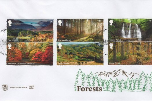 Stuart Forests FDC