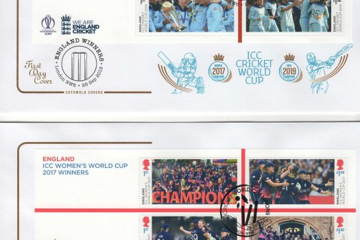 Cotswold Cricket World Cup FDC
