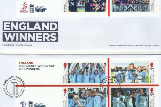 Royal Mail Cricket World Cup Minisheet FDC