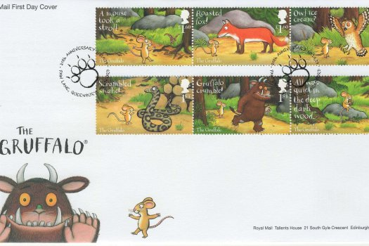 Royal Mail Gruffalo FDC