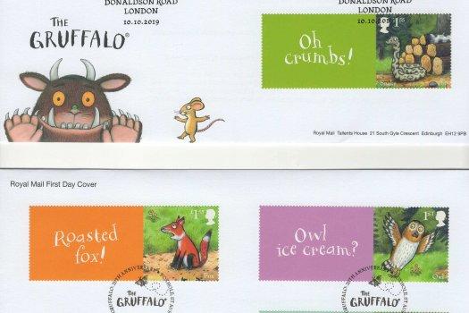 Royal Mail Gruffalo Generic Sheet FDC image 1