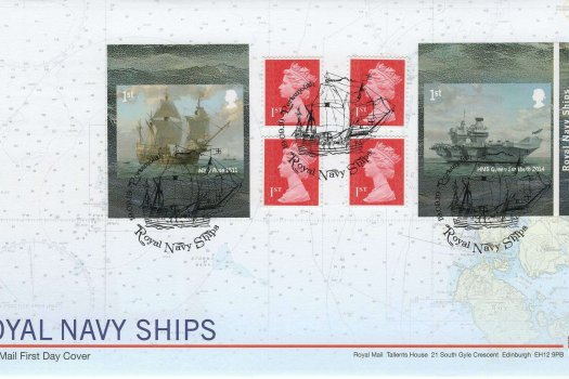 Royal Mail Royal Navy Ships Retail Booklet FDC