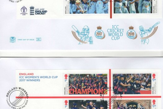 Stuart Cricket World Cup FDC